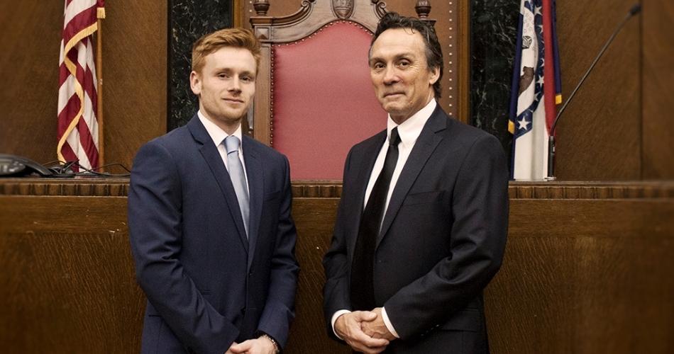 James Krupp and Ryan Krupp in court