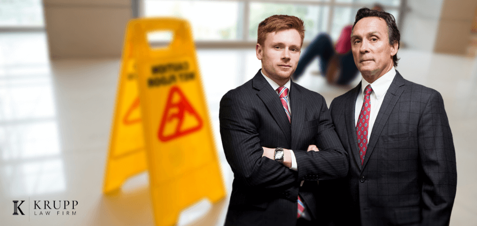 Injured on a business property krupp law firm