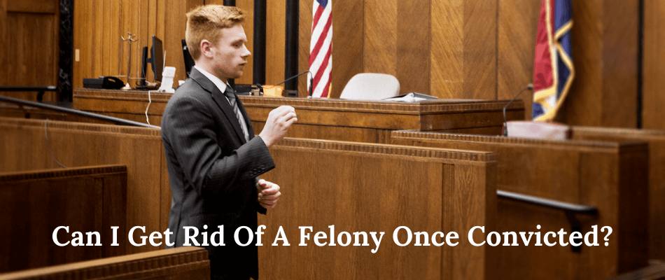 Ryan Krupp in the courtroom defending client charged with a felony